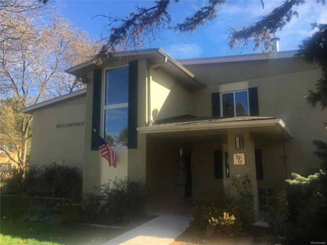 615 S Clinton Street 7B, Denver, CO 80247 (#2832298) :: Wisdom Real Estate