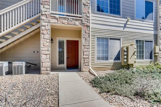 9944 E Carolina Circle #101, Aurora, CO 80247 (MLS #2844445) :: Kittle Real Estate