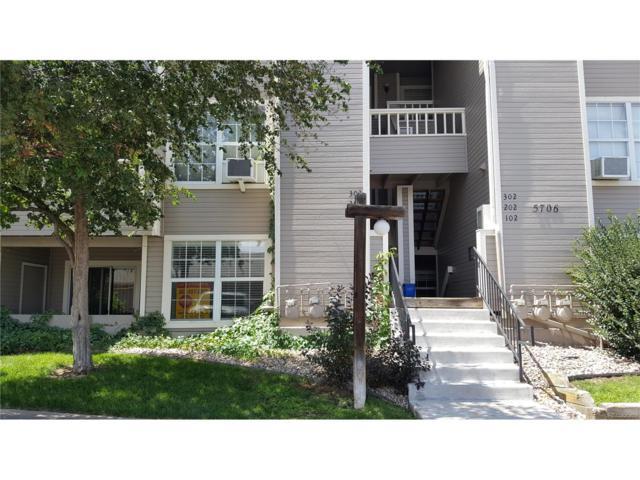 5706 W Asbury Place #103, Lakewood, CO 80227 (MLS #2870115) :: 8z Real Estate