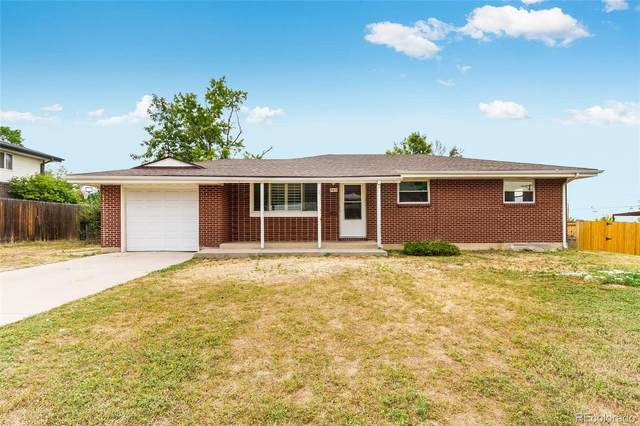 865 W 101st Avenue, Northglenn, CO 80260 (#2872681) :: Peak Properties Group