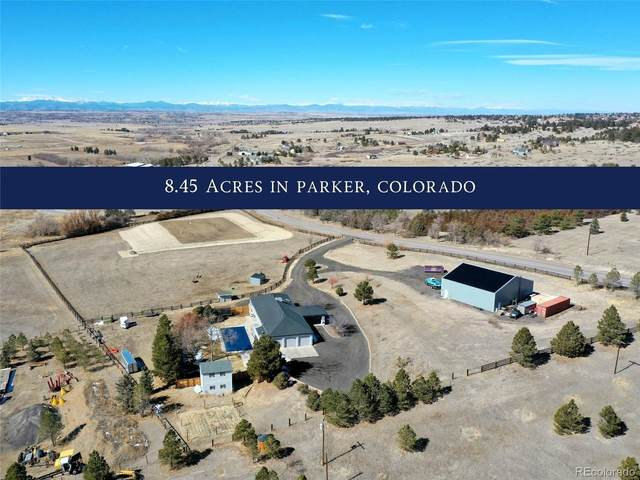 10180 Bayou Gulch Road, Parker, CO 80134 (#2949521) :: The Dixon Group