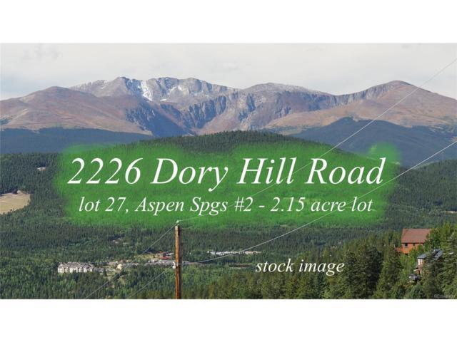 2226 Dory Hill Road, Black Hawk, CO 80422 (MLS #2973104) :: 8z Real Estate