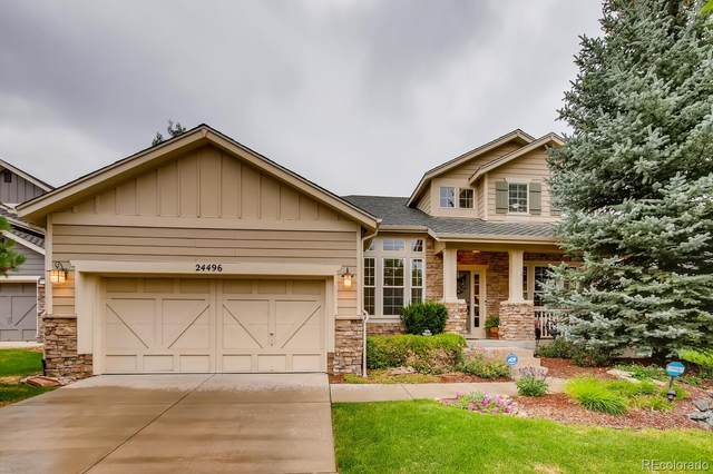 24496 E Fremont Drive, Aurora, CO 80016 (#2984259) :: The DeGrood Team