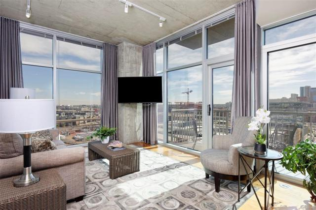 1700 Bassett Street #1312, Denver, CO 80202 (#2987718) :: The City and Mountains Group