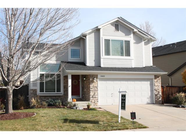 3403 White Oak Street, Highlands Ranch, CO 80129 (#3009635) :: The Peak Properties Group