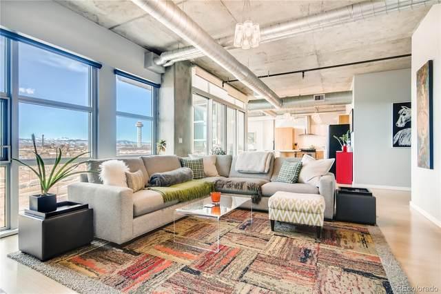 1401 Wewatta Street #710, Denver, CO 80202 (MLS #3020928) :: 8z Real Estate