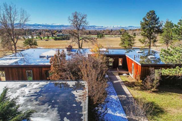 4140 E Quincy Avenue, Cherry Hills Village, CO 80113 (#3071890) :: The DeGrood Team