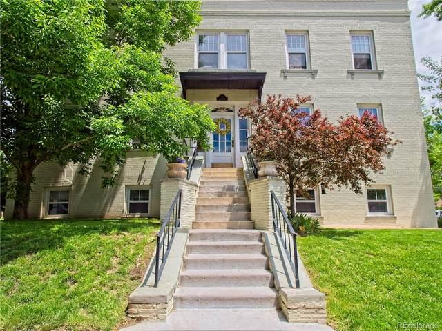 504 Pearl Street #3, Denver, CO 80203 (MLS #3100590) :: Find Colorado