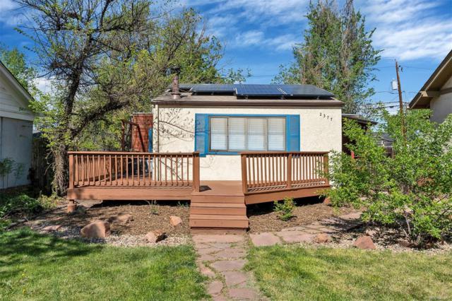 2377 S Lincoln Street, Denver, CO 80210 (MLS #3109408) :: 8z Real Estate