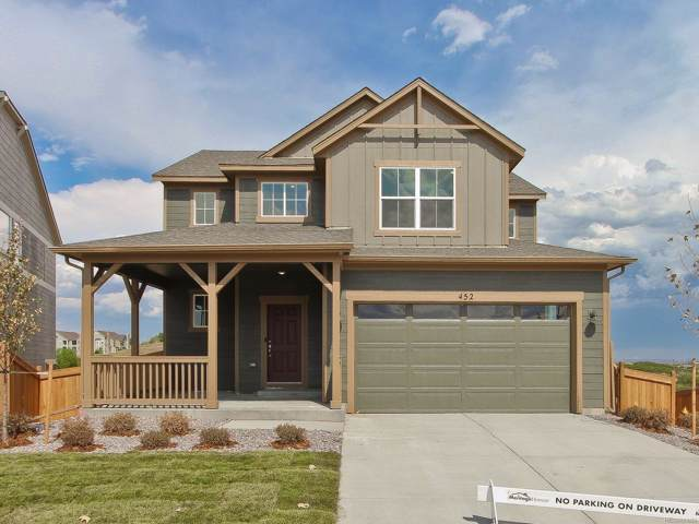 452 Hyde Park Circle, Castle Pines, CO 80108 (#3118848) :: HomeSmart Realty Group
