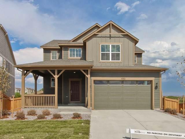 452 Hyde Park Circle, Castle Pines, CO 80108 (MLS #3118848) :: 8z Real Estate