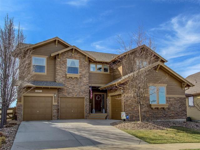 21542 E Wanderlust Place, Parker, CO 80138 (#3132844) :: The Peak Properties Group