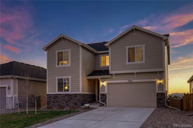 3643 White Rose Loop, Castle Rock, CO 80108 (#3143396) :: Mile High Luxury Real Estate