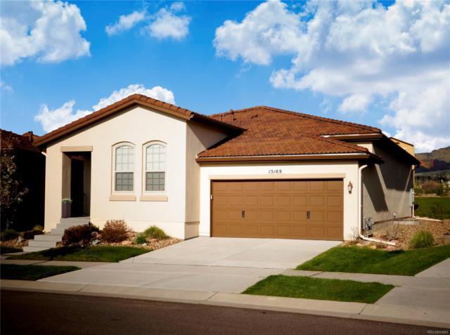15169 W Harvard Circle, Lakewood, CO 80228 (MLS #3152296) :: 8z Real Estate