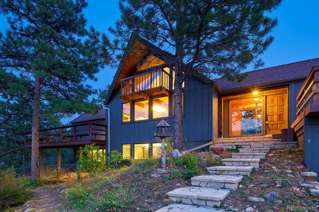 9 Canyon View Road, Boulder, CO 80302 (#3178092) :: The DeGrood Team