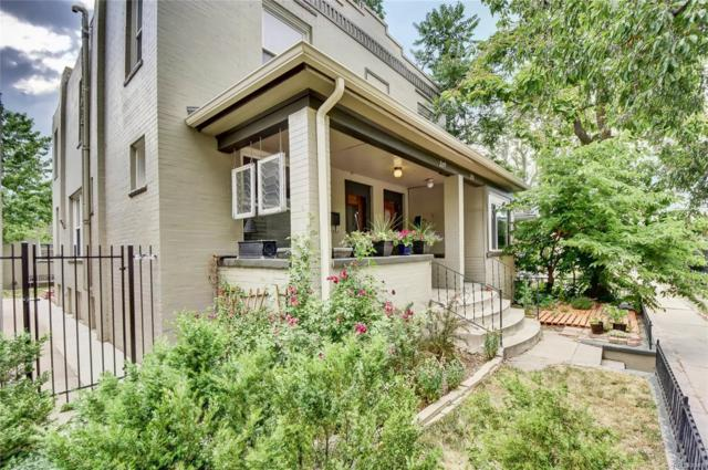 209 Pearl Street, Denver, CO 80203 (#3186786) :: Wisdom Real Estate