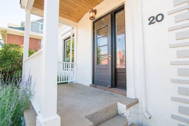 20 Bannock Street, Denver, CO 80223 (MLS #3265434) :: Keller Williams Realty