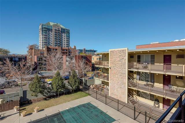 250 Pearl Street #301, Denver, CO 80203 (#3281445) :: The Griffith Home Team
