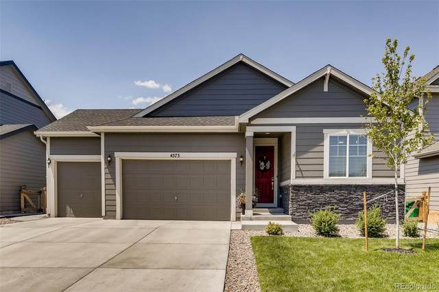 4573 S Ukraine Circle, Aurora, CO 80015 (#3282476) :: The DeGrood Team