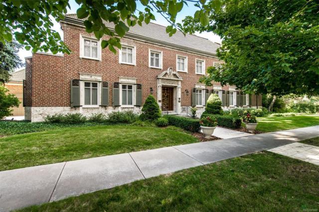 1900 E 7th Avenue Parkway, Denver, CO 80206 (#3294232) :: Mile High Luxury Real Estate