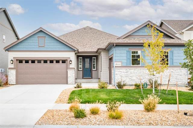 18441 W 93rd Place, Arvada, CO 80007 (#3323429) :: The FI Team