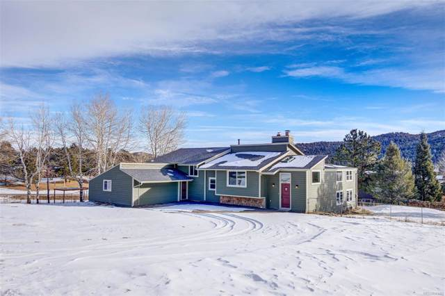 8386 S Custer Lane, Evergreen, CO 80439 (MLS #3354715) :: 8z Real Estate