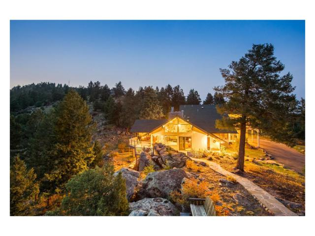 5237 Bear Mountain Drive, Evergreen, CO 80439 (MLS #3392423) :: 8z Real Estate