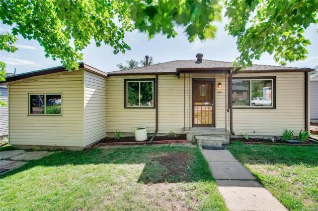 70 N Winona Court, Denver, CO 80219 (MLS #3409409) :: 8z Real Estate