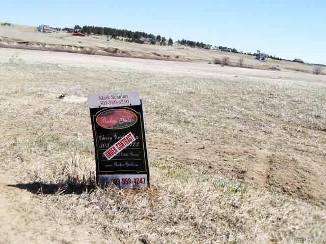 7007 Falcon Avenue, Kiowa, CO 80117 (#3432006) :: Sultan Newman Group