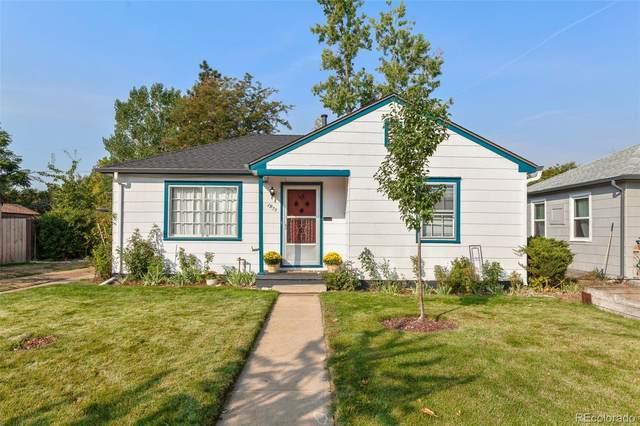 1955 Rosemary Street, Denver, CO 80220 (#3447492) :: The Scott Futa Home Team