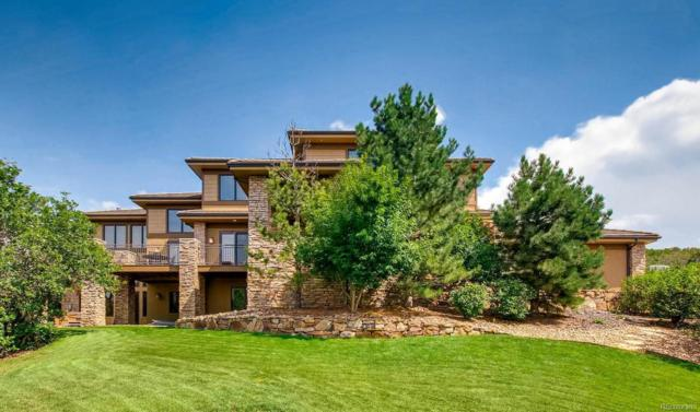 13062 Whisper Canyon Road, Castle Pines, CO 80108 (#3456476) :: The Galo Garrido Group
