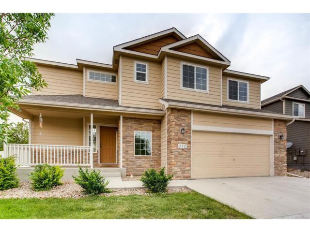 222 Alder Avenue, Johnstown, CO 80534 (MLS #3469387) :: 8z Real Estate