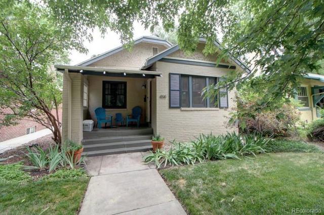 408 N Franklin Street, Denver, CO 80218 (#3516272) :: My Home Team