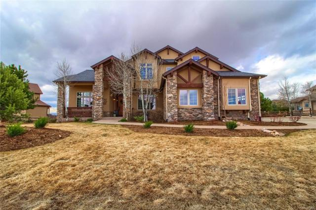 9349 Windhaven Drive, Parker, CO 80134 (#3518839) :: The Peak Properties Group