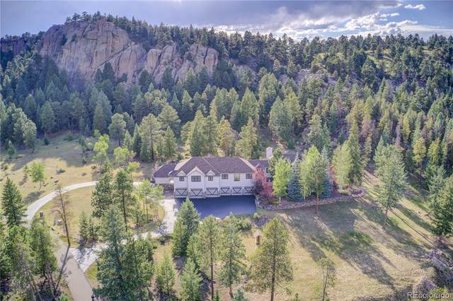 6766 Timbers Drive, Evergreen, CO 80439 (#3519653) :: The HomeSmiths Team - Keller Williams