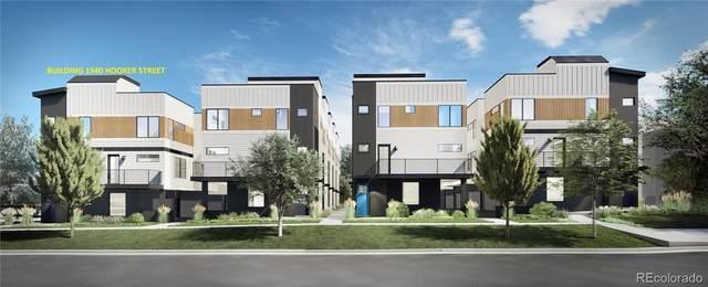 1940 Hooker Street #3, Denver, CO 80204 (MLS #3533217) :: Stephanie Kolesar