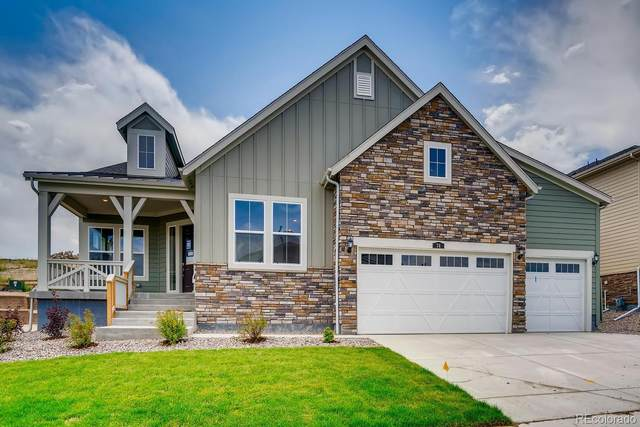 74 Broken Tee Lane, Castle Pines, CO 80108 (#3543679) :: The DeGrood Team
