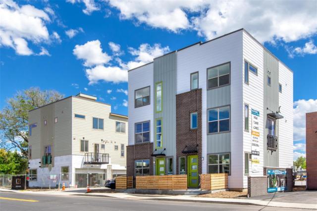 4100 E Iliff Avenue #4, Denver, CO 80222 (#3573718) :: Mile High Luxury Real Estate