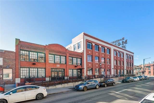 2500 Walnut Street #206, Denver, CO 80205 (#3577479) :: Mile High Luxury Real Estate