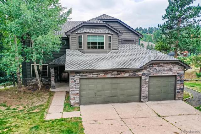 2877 Eagle View Court, Evergreen, CO 80439 (#3601935) :: Bring Home Denver with Keller Williams Downtown Realty LLC