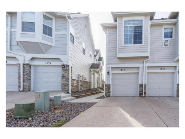 1339 Carlyle Park Circle, Highlands Ranch, CO 80129 (MLS #3611778) :: 8z Real Estate