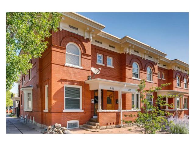 601 E 16th Avenue, Denver, CO 80203 (MLS #3621532) :: 8z Real Estate