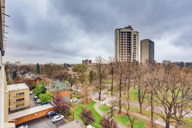 1250 N Humboldt Street #803, Denver, CO 80218 (MLS #3621863) :: Stephanie Kolesar