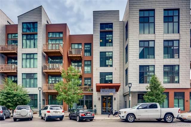 3100 Huron Street 3K, Denver, CO 80202 (#3621976) :: Finch & Gable Real Estate Co.