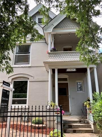 1337 N Lafayette Street, Denver, CO 80218 (#3625842) :: Relevate | Denver