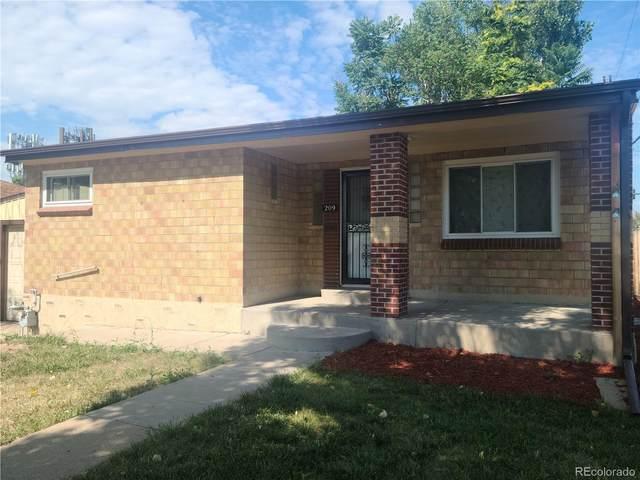 209 S Zenobia Street, Denver, CO 80219 (#3661321) :: The HomeSmiths Team - Keller Williams