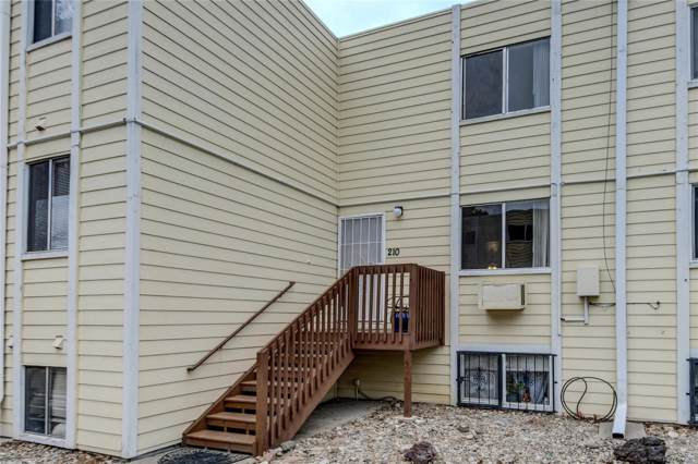 9340 W. 49th Avenue #210, Wheat Ridge, CO 80033 (#3685660) :: The Peak Properties Group