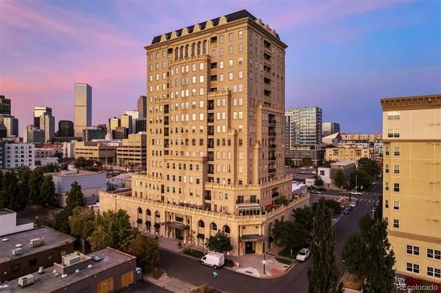 475 W 12th Avenue 4A, Denver, CO 80204 (#3704244) :: The DeGrood Team