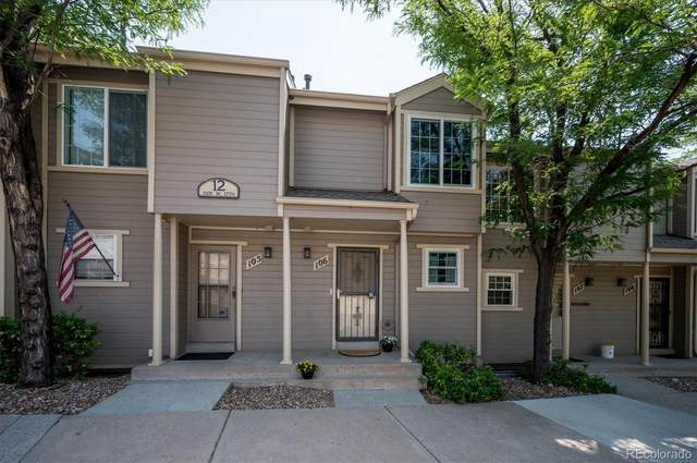 11131 W 17th Avenue #106, Lakewood, CO 80215 (#3720317) :: The DeGrood Team