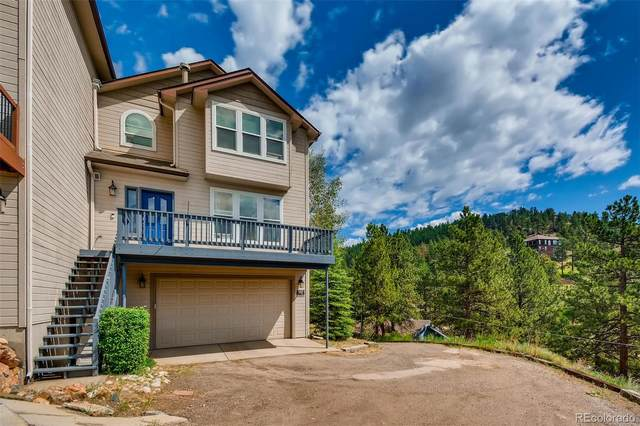 3345 Russell Gulch Road B, Evergreen, CO 80439 (#3737249) :: Berkshire Hathaway HomeServices Innovative Real Estate